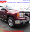 gmc sierra 1500 2008 red sle1 gasoline 8 cylinders 4 wheel drive automatic 45840
