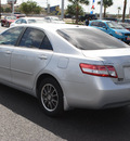 toyota camry 2010 silver sedan le gasoline 4 cylinders front wheel drive automatic 78501