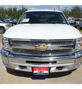 chevrolet silverado 1500 2013 white lt 8 cylinders automatic 77566