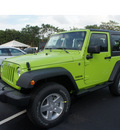 jeep wrangler 2013 green suv sport 6 cylinders manual 33157