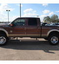ford f 250 2011 brown lariat 8 cylinders automatic 78539