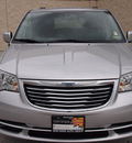 chrysler town and country 2012 silver van touring 6 cylinders automatic 76011