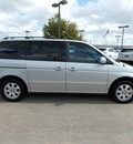honda odyssey 2003 silver van ex l 6 cylinders sohc automatic with overdrive 77074
