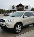 gmc acadia 2010 gold suv slt gasoline 6 cylinders front wheel drive automatic 76087