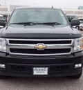 chevrolet silverado 1500 2008 black ltz 8 cylinders automatic with overdrive 77074
