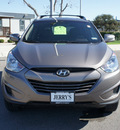 hyundai tucson 2012 brown gls gasoline 4 cylinders front wheel drive 6 speed automatic 76087