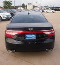 hyundai azera 2013 black sedan gasoline 6 cylinders front wheel drive automatic 76049