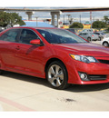 toyota camry 2012 red sedan se sport limited edition gasoline 4 cylinders front wheel drive automatic 78232