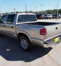chevrolet s 10 2002 lt  brown suv ls gasoline 6 cylinders 4 wheel drive automatic 77802