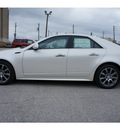 cadillac cts 2012 white sedan 3 0l luxury 6 cylinders automatic 77002