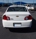 chevrolet malibu 2010 white sedan ls gasoline 4 cylinders front wheel drive 4 speed automatic 76234