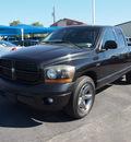 dodge ram 1500 2006 black pickup truck slt gasoline 8 cylinders rear wheel drive automatic 76234