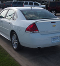 chevrolet impala 2012 white sedan ltz flex fuel 6 cylinders front wheel drive automatic 77090