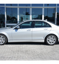 mercedes benz c class 2009 silver sedan c300 sport 6 cylinders automatic 78216
