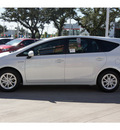 toyota prius v 2012 white wagon three hybrid 4 cylinders front wheel drive automatic 78232
