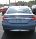 chrysler 200 2011 lt  blue sedan lx gasoline 4 cylinders front wheel drive autostick 62863