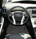 toyota prius 2012 silver hatchback four hybrid 4 cylinders front wheel drive cont  variable trans  76087