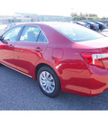 toyota camry 2012 red sedan le gasoline 4 cylinders front wheel drive automatic 77074