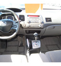honda civic 2008 blue sedan lx gasoline 4 cylinders front wheel drive automatic with overdrive 77706
