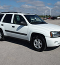 chevrolet trailblazer 2003 white suv ls gasoline 6 cylinders rear wheel drive automatic 78009