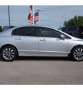 honda civic 2009 silver sedan ex w navi gasoline 4 cylinders front wheel drive automatic 77094