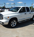 dodge ram 1500 2007 white pickup truck st flex fuel 8 cylinders rear wheel drive automatic 78130