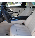 bmw 6 series 2013 white sedan 640i gran coupe gasoline 6 cylinders rear wheel drive automatic 77002