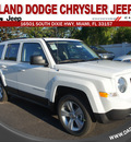 jeep patriot 2013 white suv latitude gasoline 4 cylinders front wheel drive automatic 33157