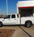dodge ram 2500 2008 white pickup truck st diesel 6 cylinders rear wheel drive automatic 76049