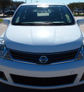 nissan versa 2011 white hatchback 1 8 s gasoline 4 cylinders front wheel drive automatic with overdrive 76018