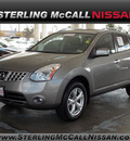 nissan rogue 2010 lt  gray suv sl gasoline 4 cylinders front wheel drive automatic with overdrive 77477
