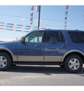 ford expedition 2003 blue suv eddie bauer gasoline 8 cylinders sohc rear wheel drive automatic 78654