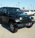 jeep wrangler unlimited 2010 green suv rubicon gasoline 6 cylinders 4 wheel drive automatic 75007