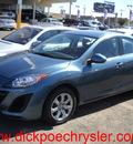 mazda mazda3i 2011 blue sedan sport 4 cylinders automatic 79925