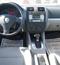 volkswagen jetta 2007 gray sedan wolfsburg edition gasoline 5 cylinders front wheel drive automatic 27569