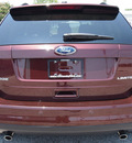ford edge 2009 dk  red suv limited gasoline 6 cylinders front wheel drive 6 speed automatic 77532