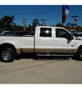 ford f 350 super duty 2012 white king ranch 8 cylinders automatic with overdrive 77706
