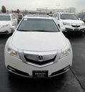 acura tl 2009 white sedan sh tech awd gasoline 6 cylinders all whee drive automatic with overdrive 60462