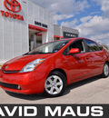 toyota prius 2008 red hatchback hybrid 4 cylinders front wheel drive automatic 32771