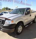 ford f 150 2007 silver xl 6 cylinders 5 speed manual 76108