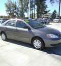 toyota corolla 2008 gray sedan ce gasoline 4 cylinders front wheel drive automatic 75503