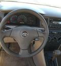 toyota corolla 2008 gray sedan ce gasoline 4 cylinders front wheel drive automatic 75503
