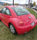 volkswagen beetle 1999 red coupe gls gasoline 4 cylinders front wheel drive 5 speed manual 81212