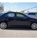 mitsubishi lancer 2013 dk  blue sedan ralliart gasoline 4 cylinders all whee drive automatic 77094
