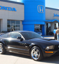 ford mustang 2007 black coupe gt premium gasoline 8 cylinders rear wheel drive automatic 77065