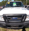 ford ranger 2010 white xl gasoline 4 cylinders 2 wheel drive automatic with overdrive 32401