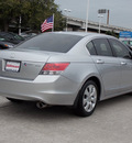 honda accord 2009 silver sedan ex l v6 gasoline 6 cylinders front wheel drive automatic with overdrive 77099
