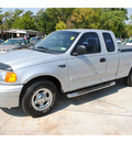 ford f 150 heritage 2004 gray pickup truck xl gasoline 6 cylinders rear wheel drive automatic with overdrive 77018