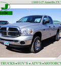 dodge ram pickup 2500 2007 silver slt diesel 6 cylinders 4 wheel drive automatic 79119