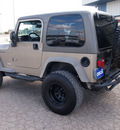 jeep wrangler 2005 beige suv x 6 cylinders automatic 78861